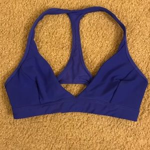 Lululemon royal blue sports bra size 6